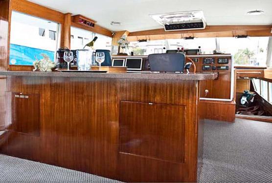 Chris Craft Yachts Interior